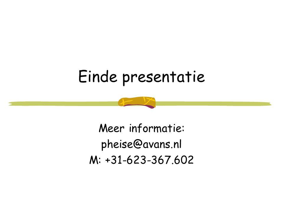 Meer informatie: pheise@avans.nl M: +31-623-367.602