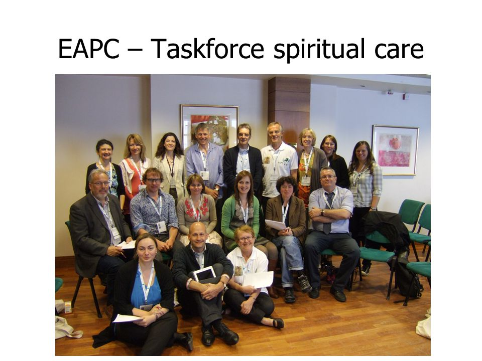 EAPC – Taskforce spiritual care