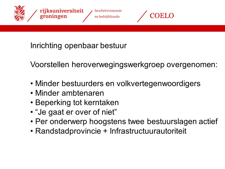 Inrichting openbaar bestuur