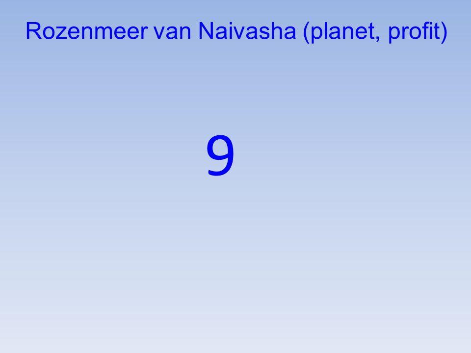 Rozenmeer van Naivasha (planet, profit)