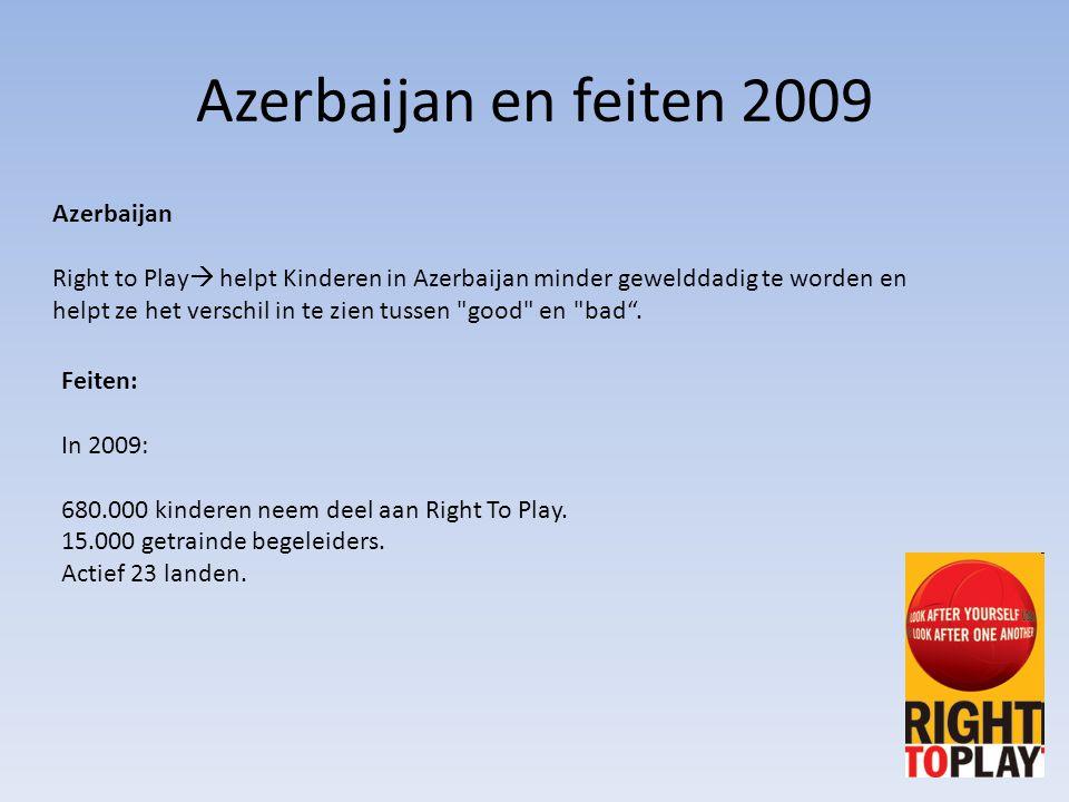 Azerbaijan en feiten 2009 Azerbaijan
