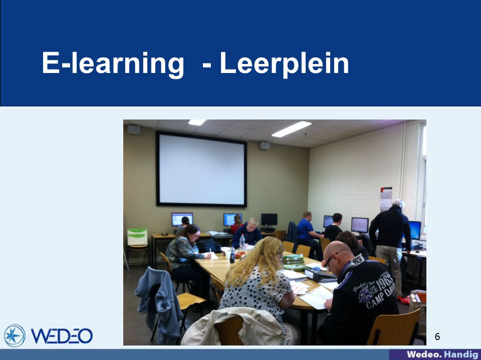 E-learning - Leerplein