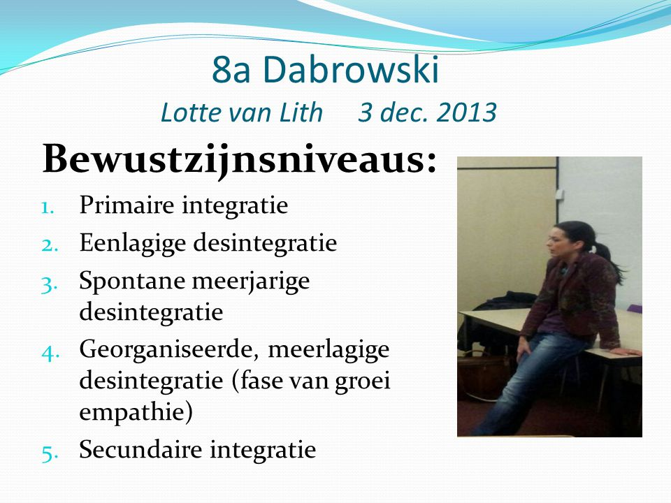 8a Dabrowski Lotte van Lith 3 dec. 2013