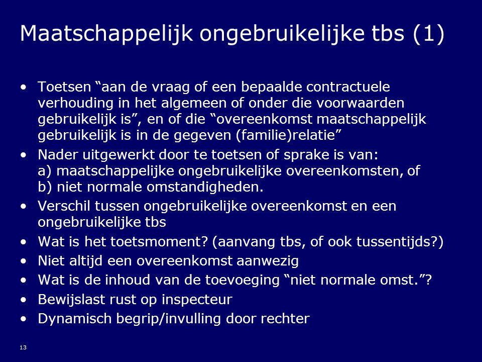 Maatschappelijk ongebruikelijke tbs (1)