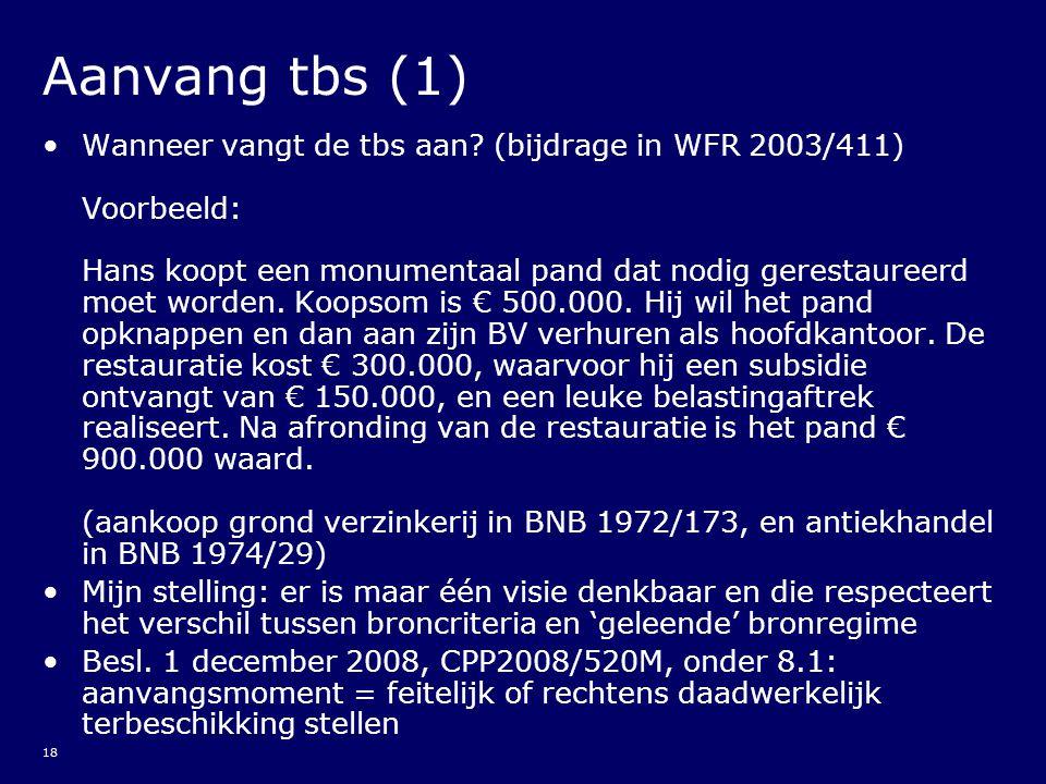 Aanvang tbs (1)
