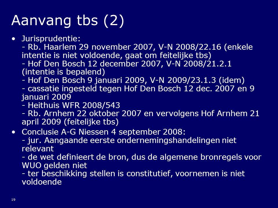 Aanvang tbs (2)