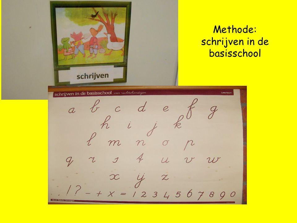 Methode: schrijven in de basisschool