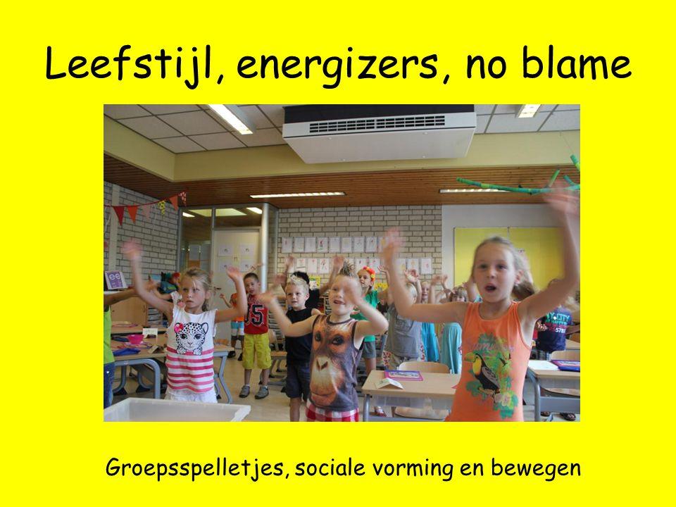 Leefstijl, energizers, no blame