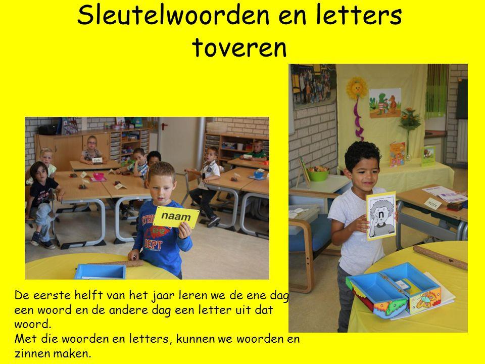 Sleutelwoorden en letters toveren