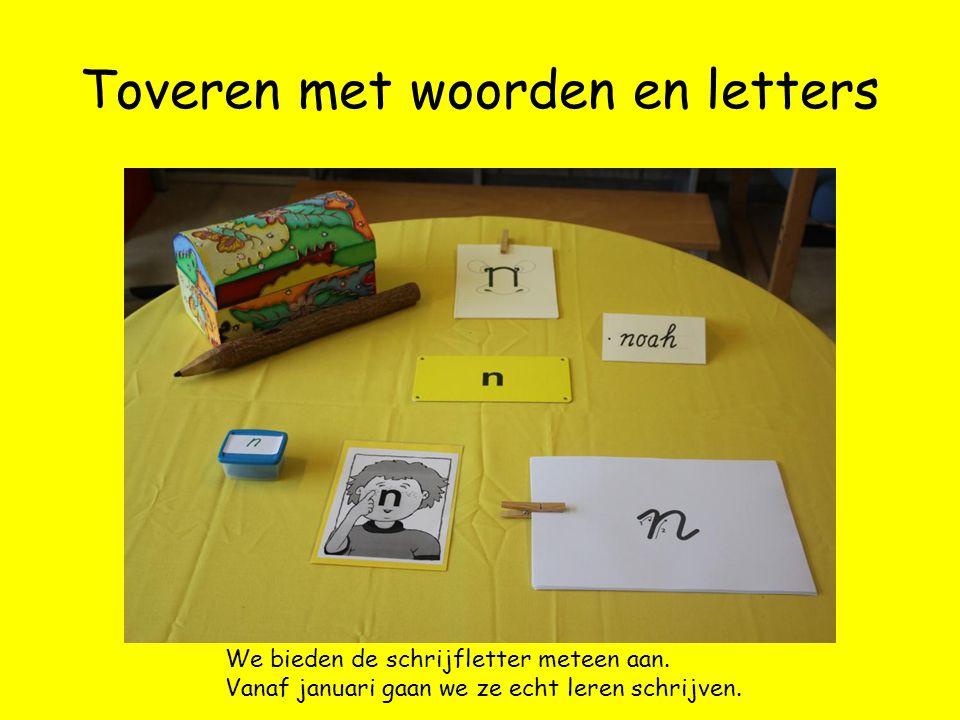 Toveren met woorden en letters