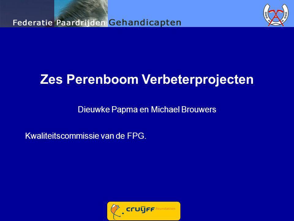 Zes Perenboom Verbeterprojecten