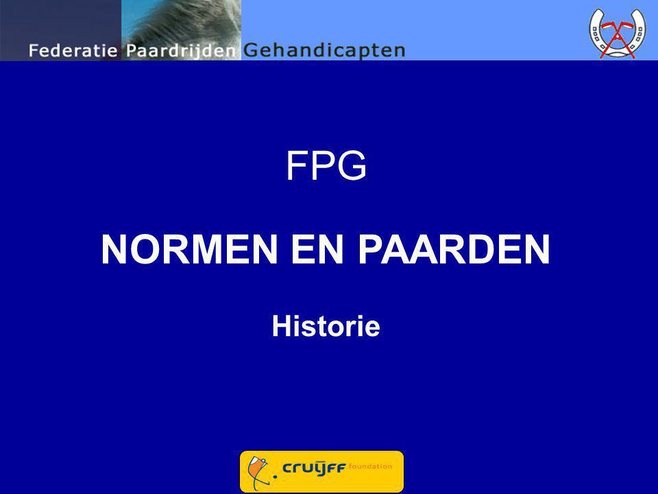 FPG NORMEN EN PAARDEN Historie