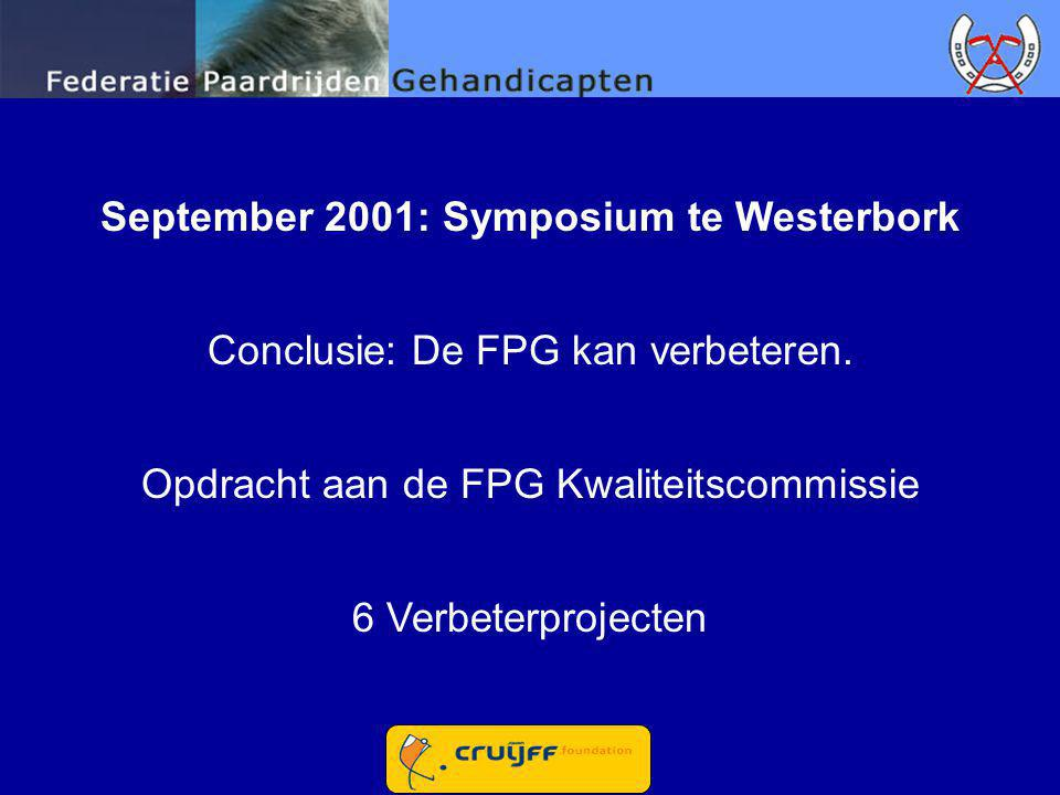 September 2001: Symposium te Westerbork