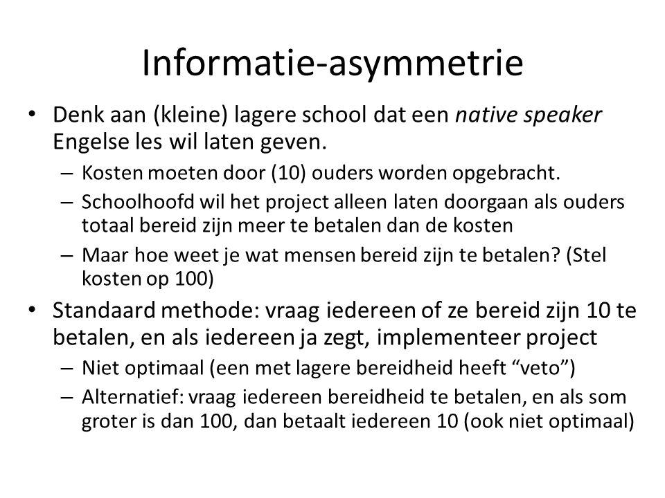 Informatie-asymmetrie