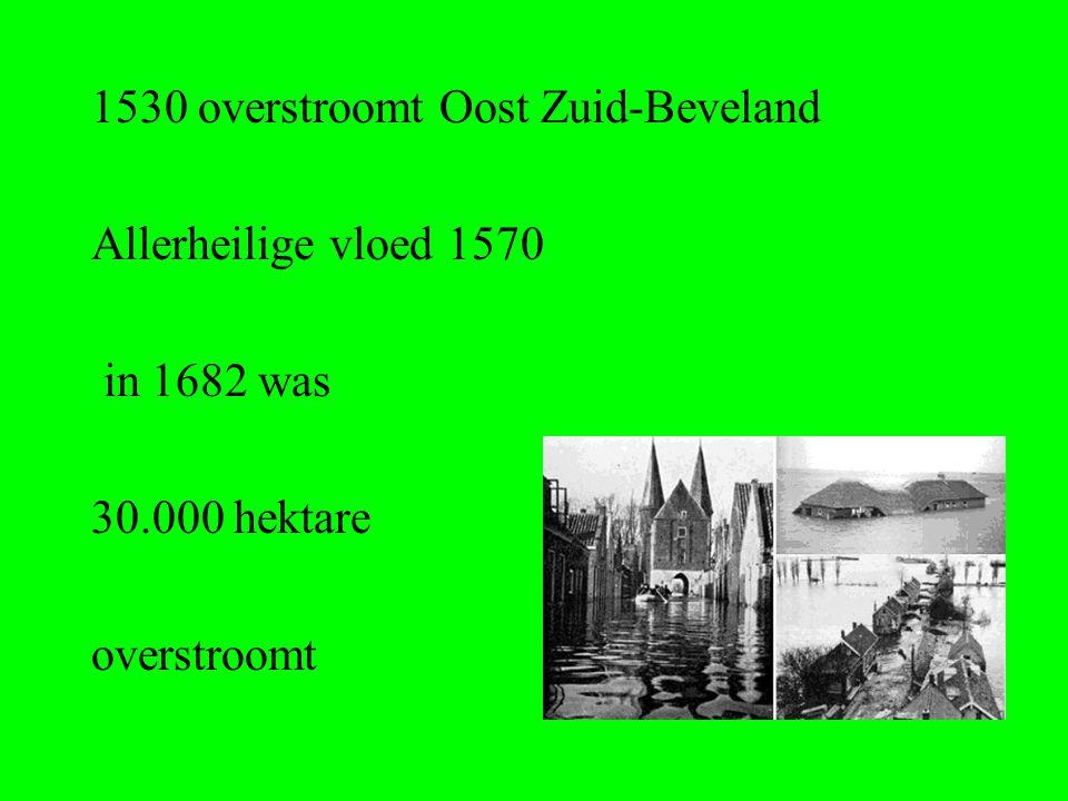 1530 overstroomt Oost Zuid-Beveland