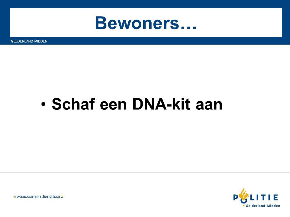 Bewoners… Schaf een DNA-kit aan 35
