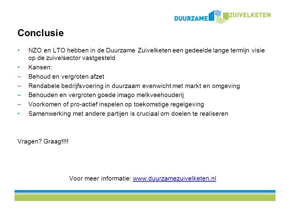 Voor meer informatie: www.duurzamezuivelketen.nl