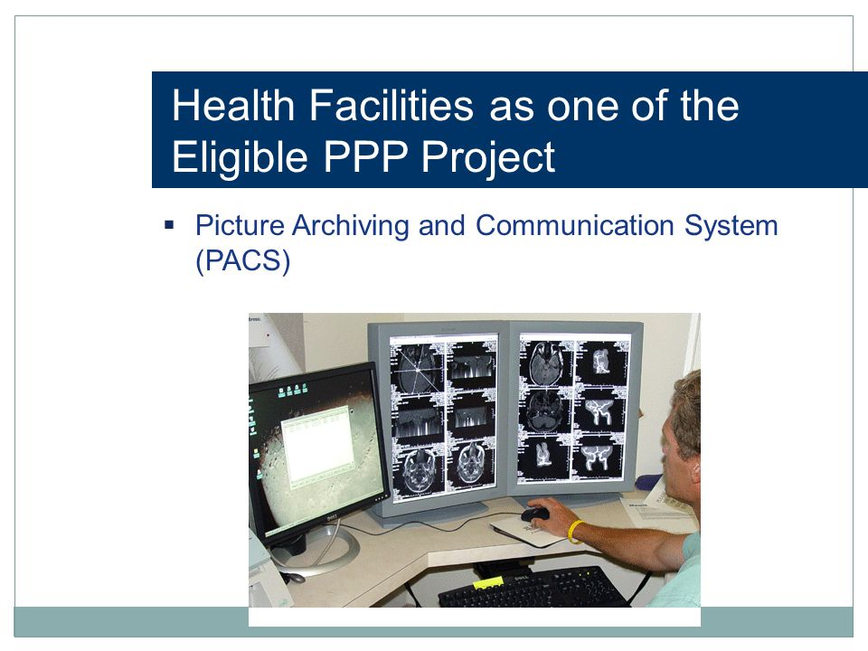 Health Facilities as one of the Eligible PPP Project