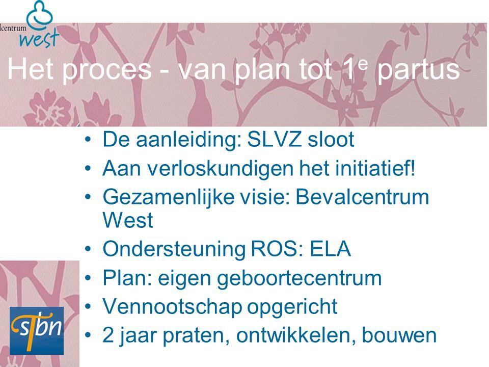 Het proces - van plan tot 1e partus