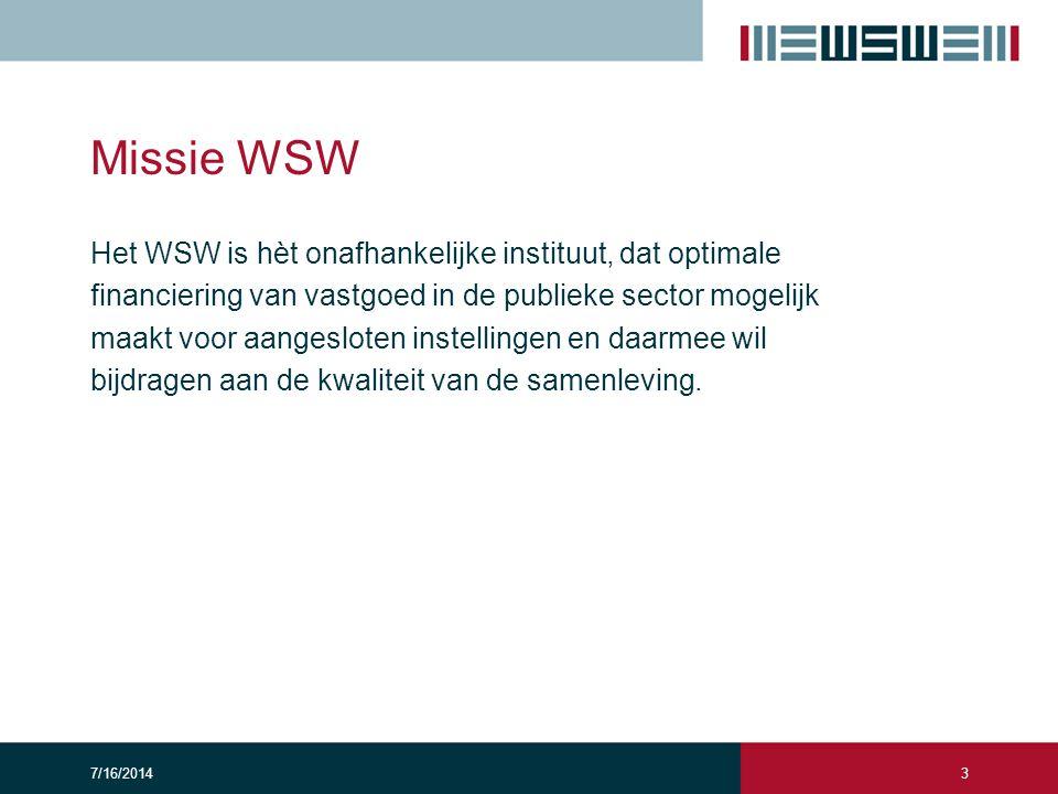 Missie WSW