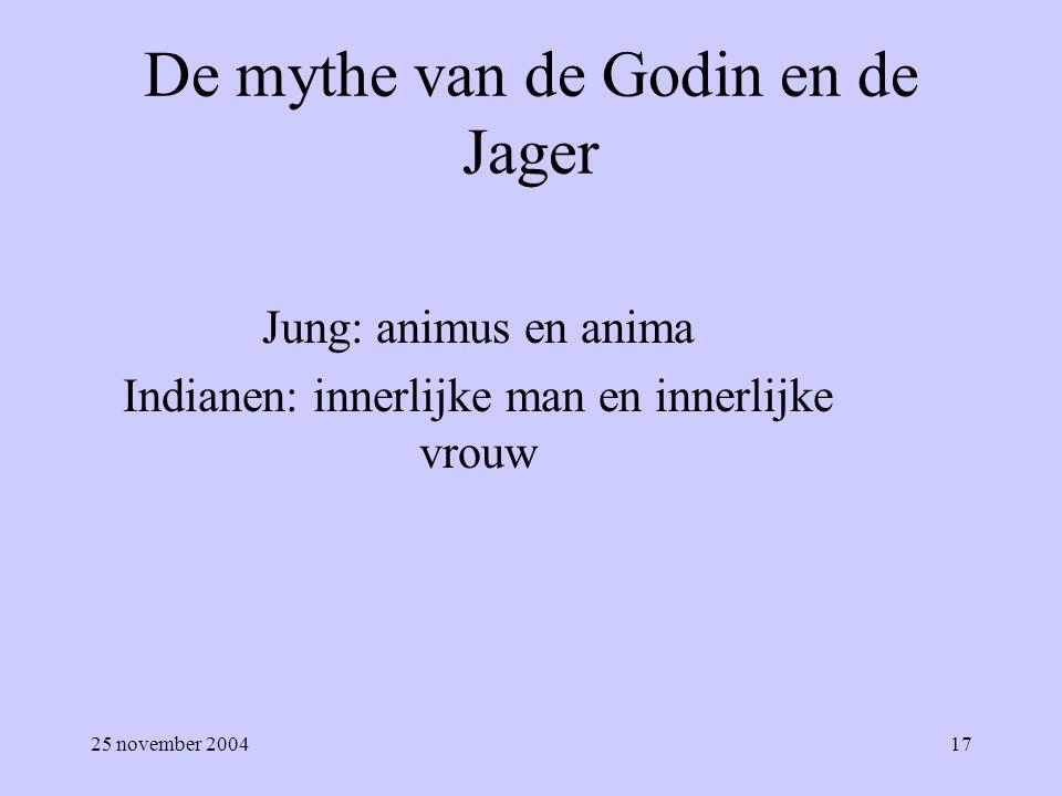 De mythe van de Godin en de Jager