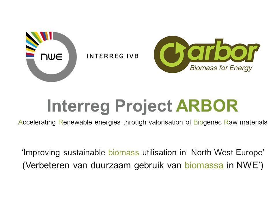 Interreg Project ARBOR
