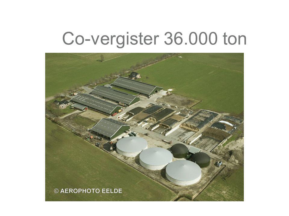Co-vergister 36.000 ton