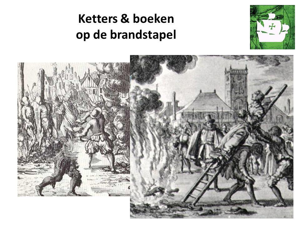 Ketters & boeken op de brandstapel