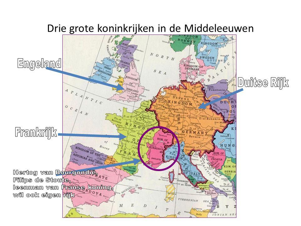 Drie grote koninkrijken in de Middeleeuwen