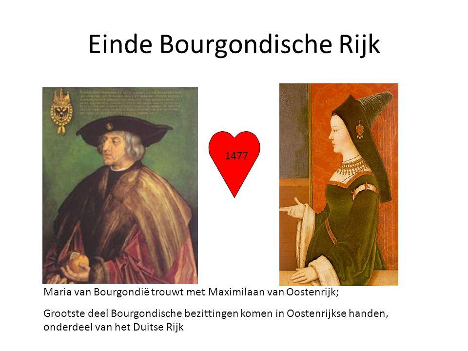 Einde Bourgondische Rijk