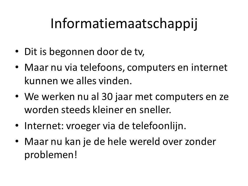 Informatiemaatschappij