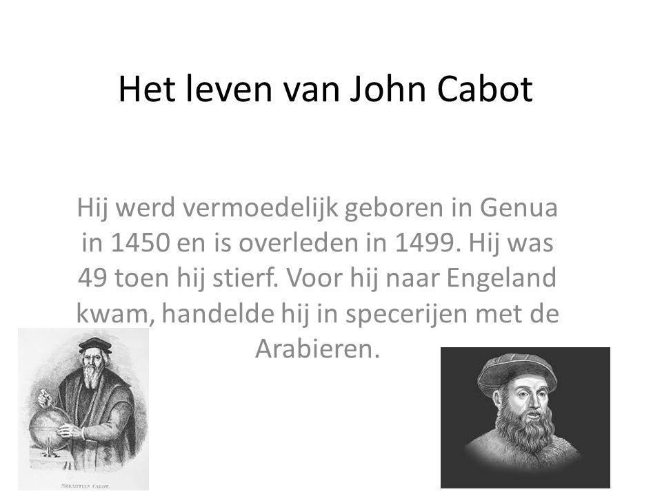 Het leven van John Cabot