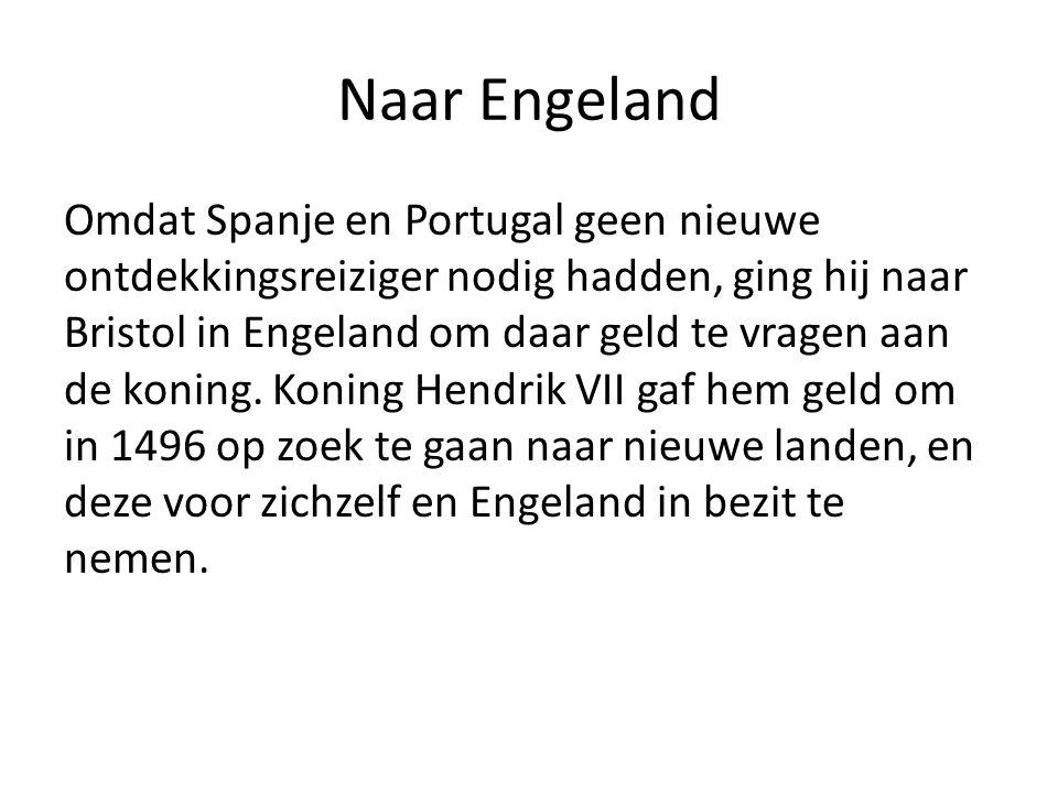 Naar Engeland