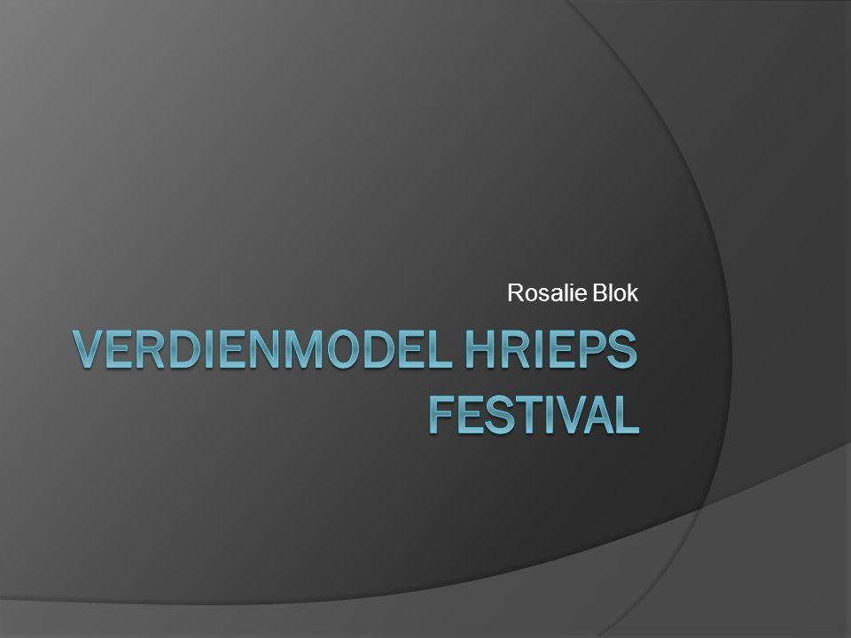 Verdienmodel Hrieps festival