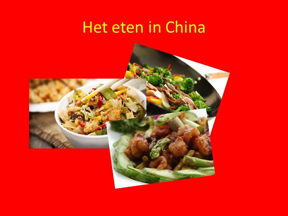 Het eten in China