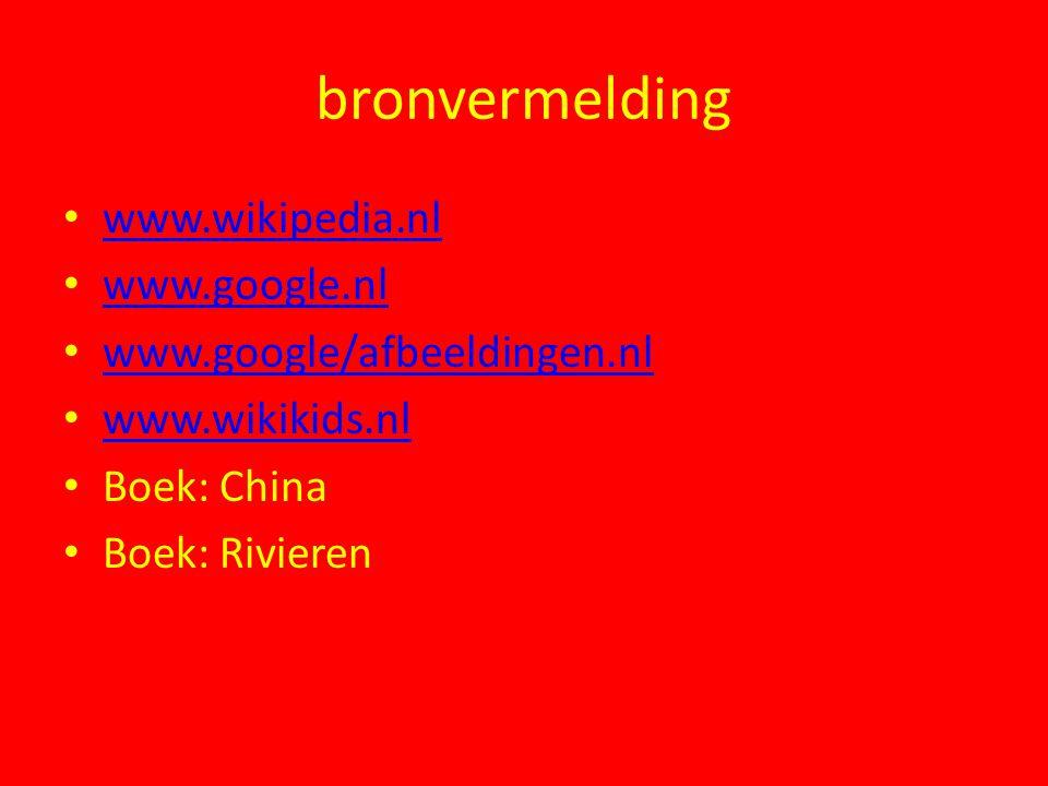 bronvermelding www.wikipedia.nl www.google.nl