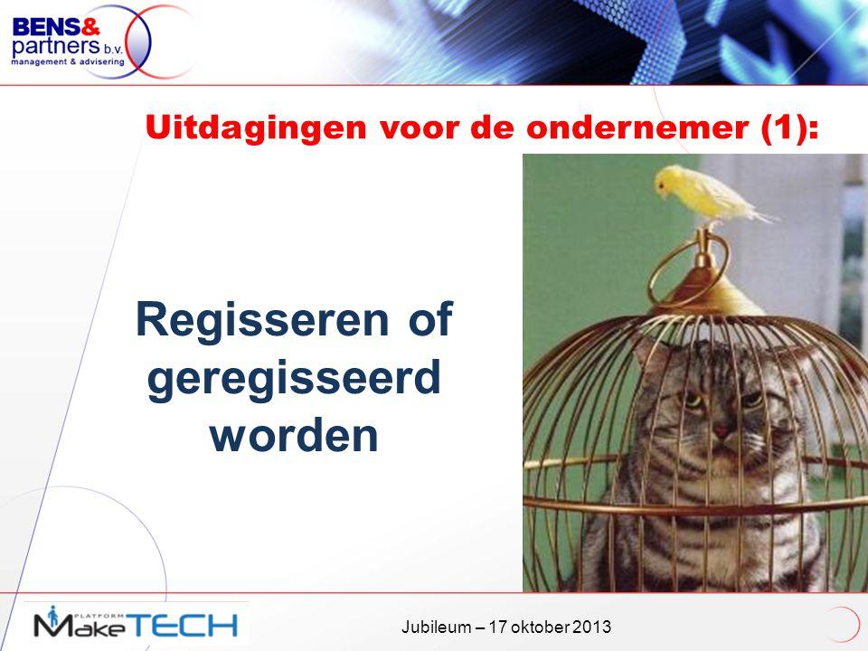 Uitdagingen voor de ondernemer (1):