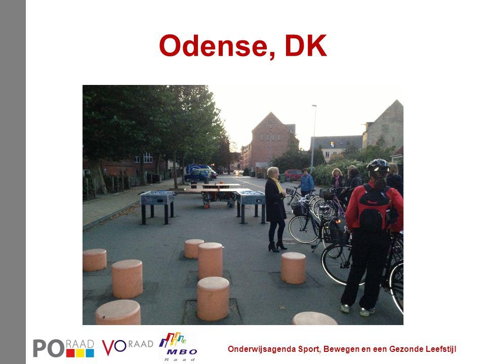 Odense, DK Onderwijsagenda Sport, Bewegen en een Gezonde Leefstijl