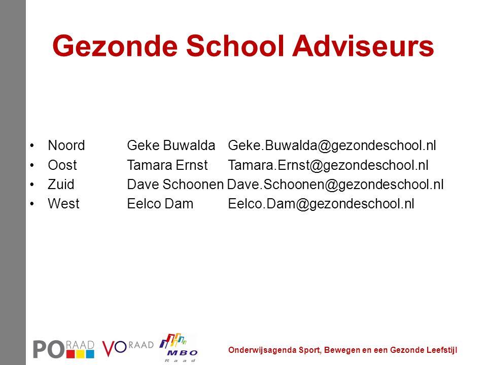 Gezonde School Adviseurs