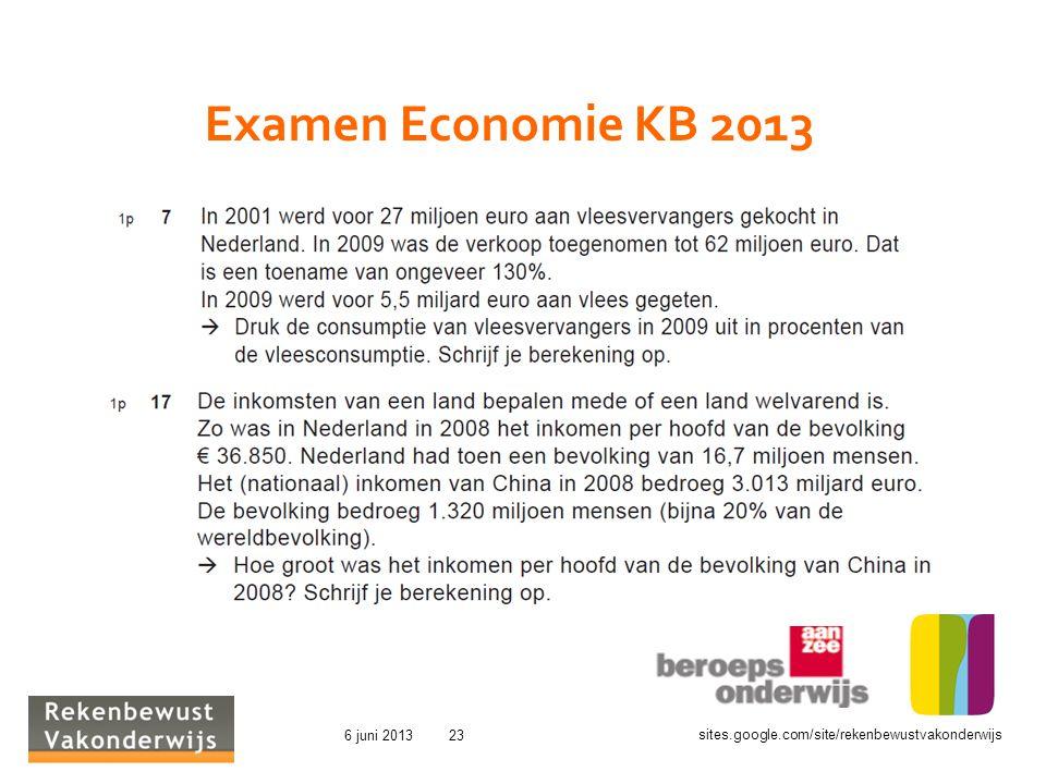 Examen Economie KB 2013 GC 2007 01 17 Openingslezing Reehorst 2007