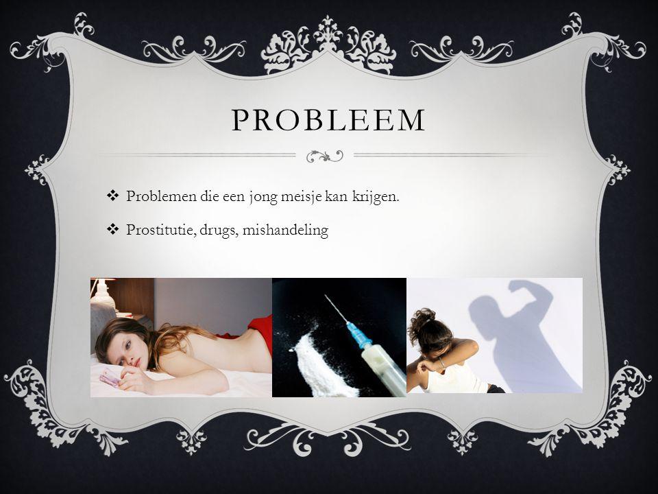 probleem Problemen die een jong meisje kan krijgen.