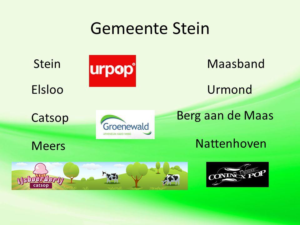 Gemeente Stein Stein Maasband Elsloo Urmond Berg aan de Maas Catsop