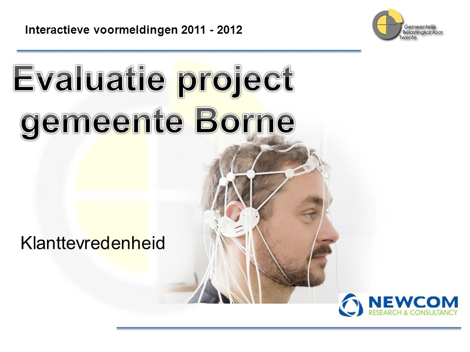 Evaluatie project gemeente Borne