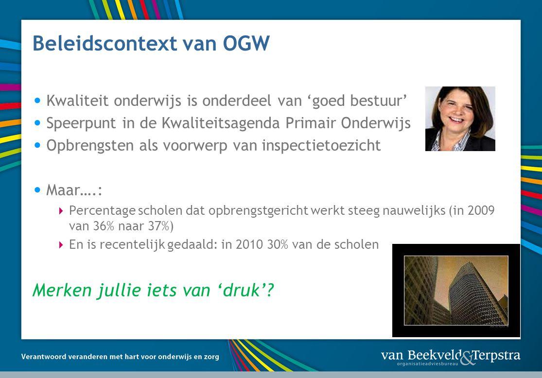 Beleidscontext van OGW