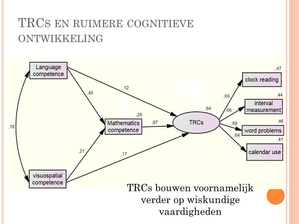 TRCs en ruimere cognitieve ontwikkeling