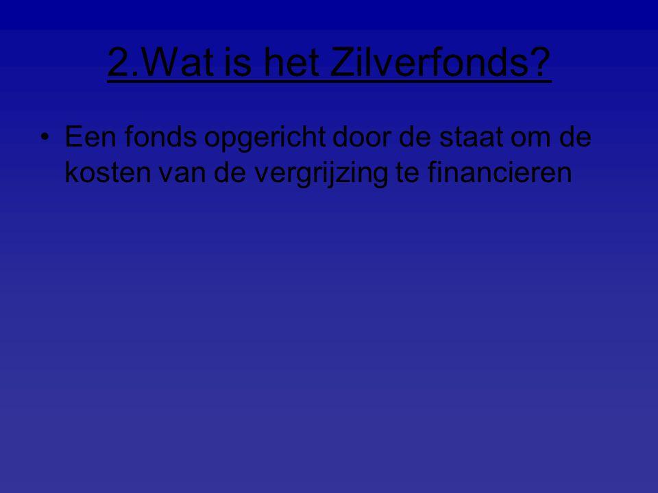 2.Wat is het Zilverfonds.