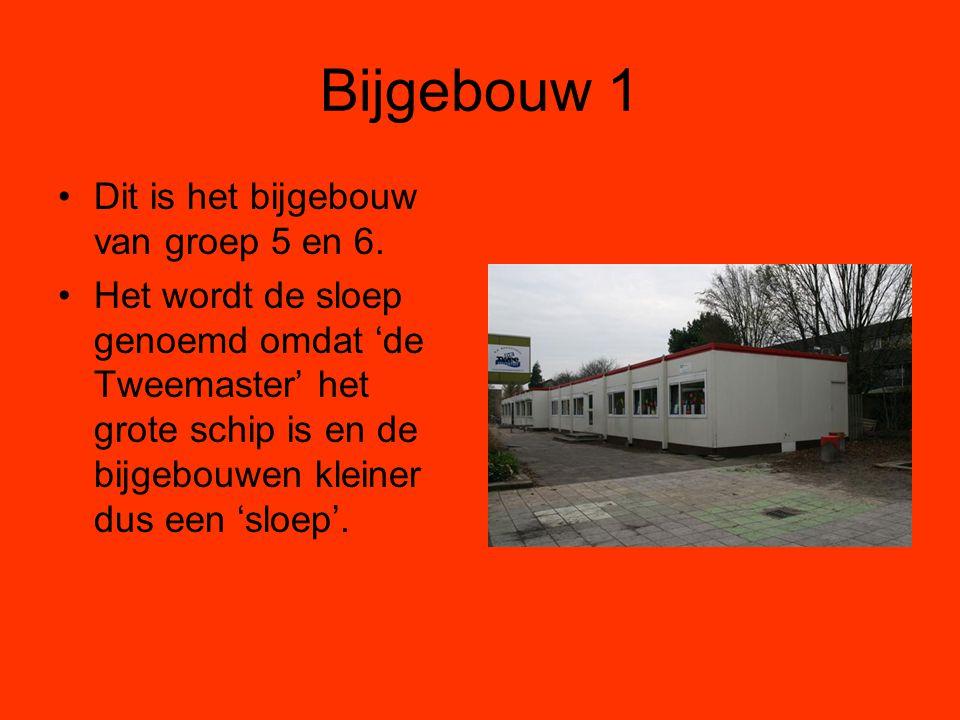 Bijgebouw 1 Dit is het bijgebouw van groep 5 en 6.