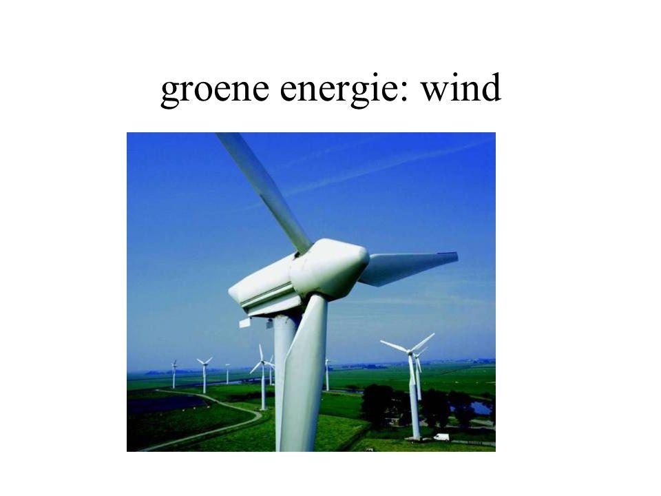 groene energie: wind