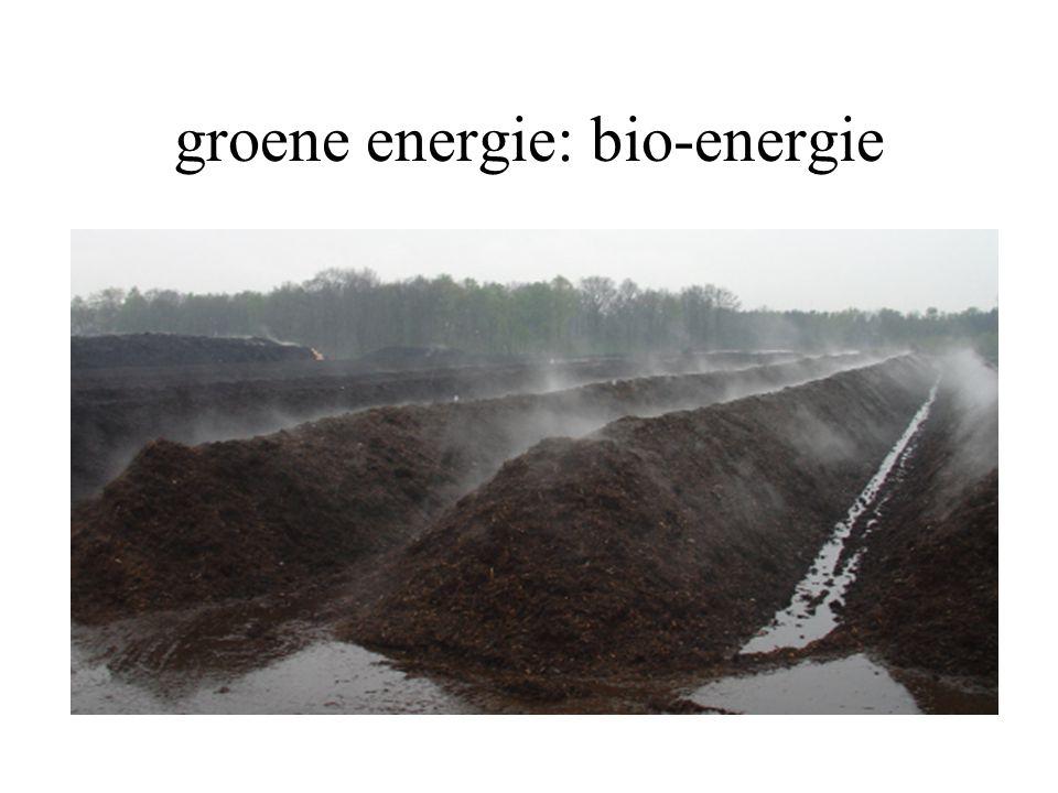 groene energie: bio-energie