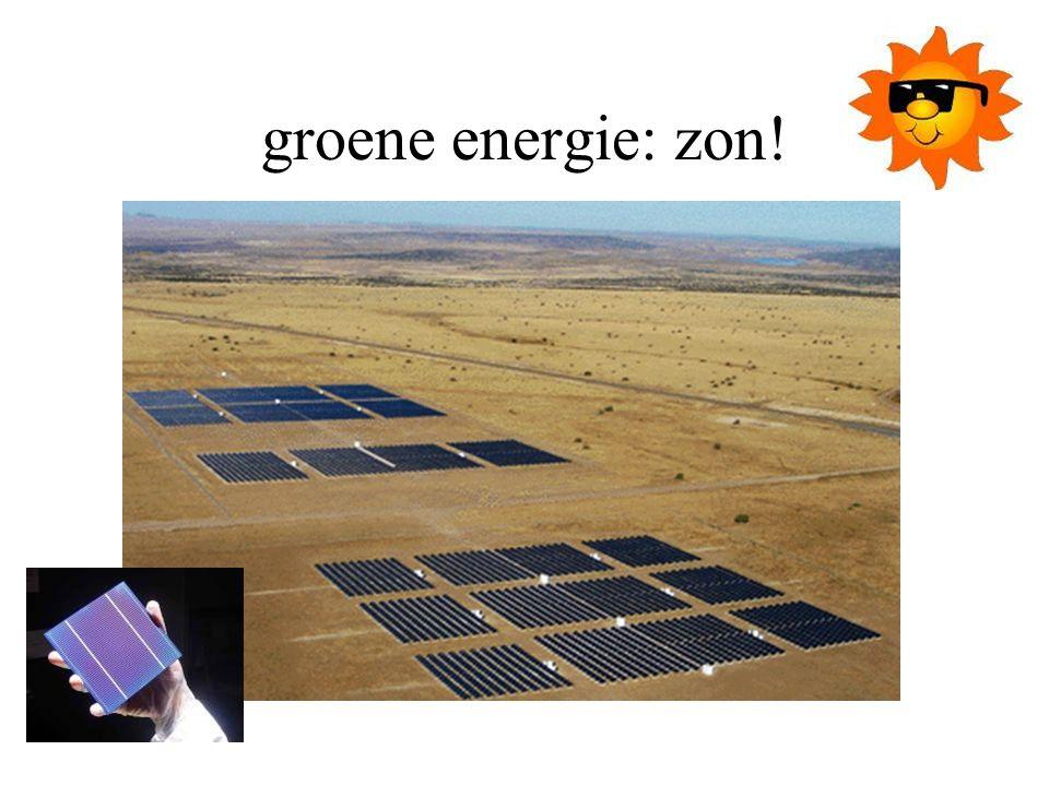 groene energie: zon!